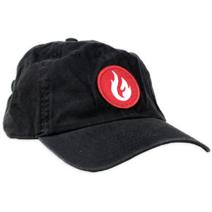Firestone Flame Patch Hat Black Front