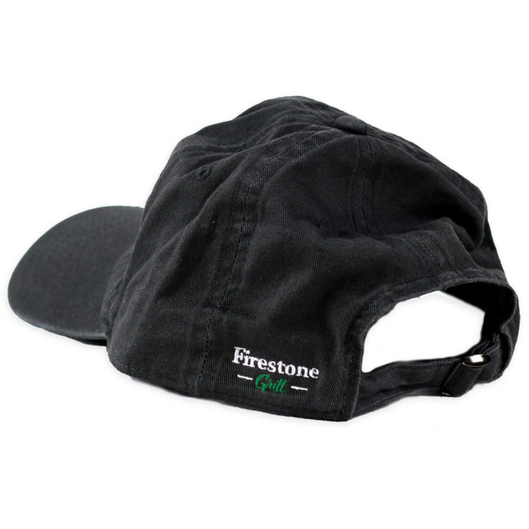 Firestone Flame Patch Hat Gray Back