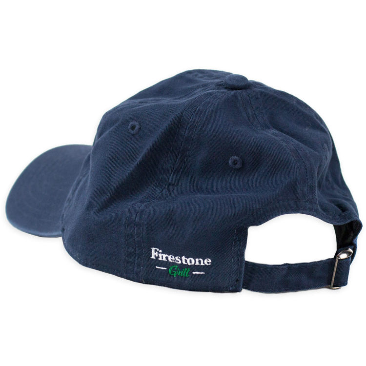 Firestone Flame Patch Hat Navy Back