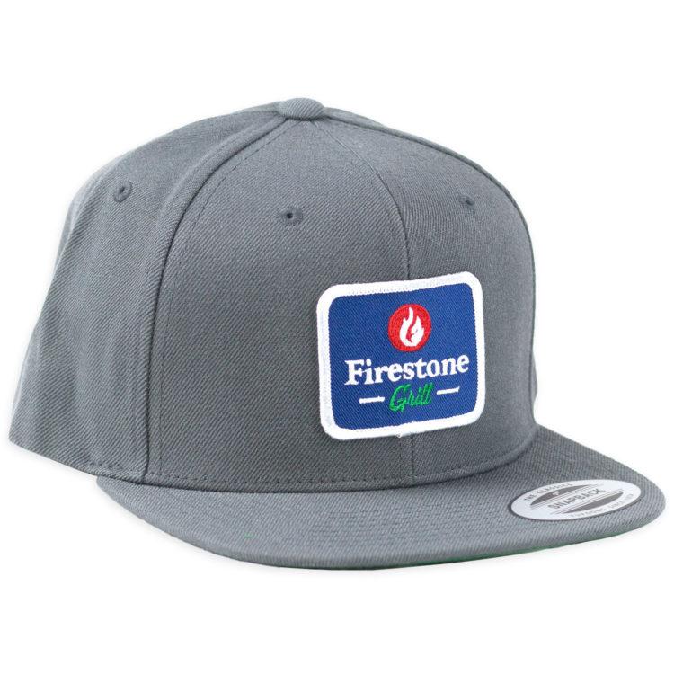 Firestone Logo Patch Hat Gray Front