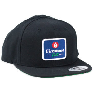 Firestone Logo Patch Hat Navy Front