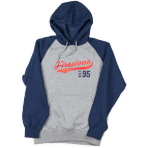 Firestone Script Sweatshirt Navy