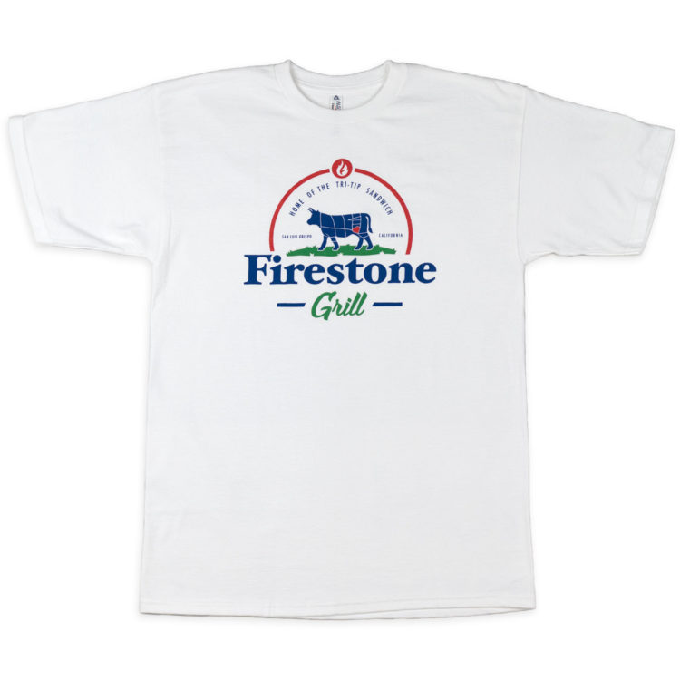 Men's Home of the Tri Tip Shirt White