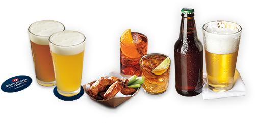 Happy Hour drinks selection