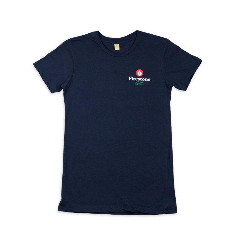 Women's Real CA Navy Shirt Front